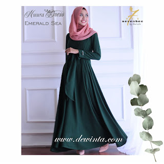 NUURA DRESS EMERALD SEA