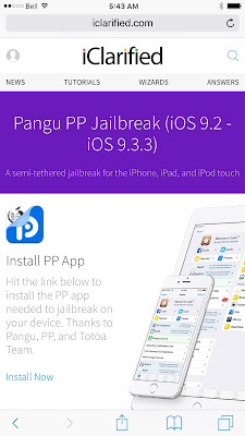 Great news for jailbreakers out there, you can now jailbreak your iPhone/iPad on iOS 9.2-9.3.3 without using computer and also without your Apple ID credentials.