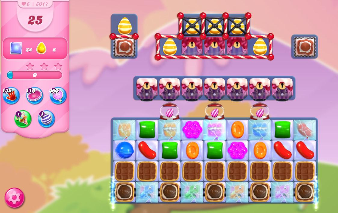 Candy Crush Saga level 5617