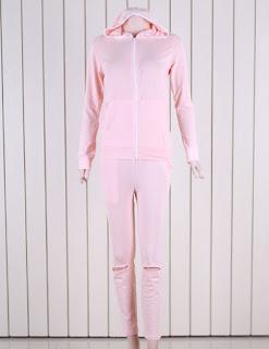 Jual Online Stelan Pink Model Fashion Korea Terbaru diJakarta