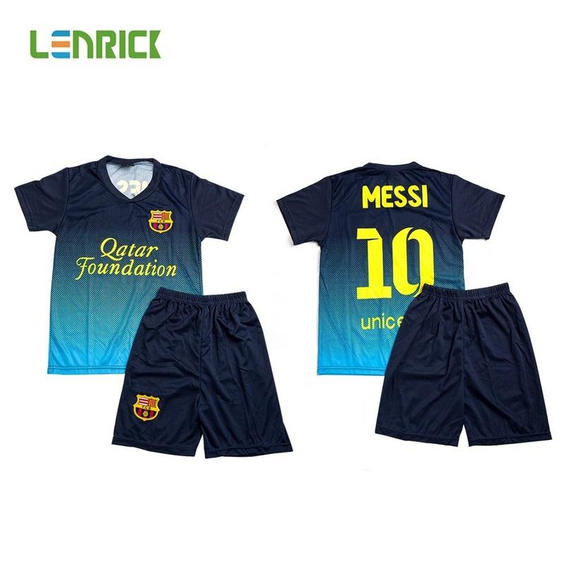 96462cf89 Lenrick Kids Barcelona Soccer Jersey Kits Wholesale