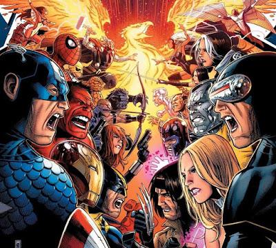 Los Vengadores VS. La Patrulla-X