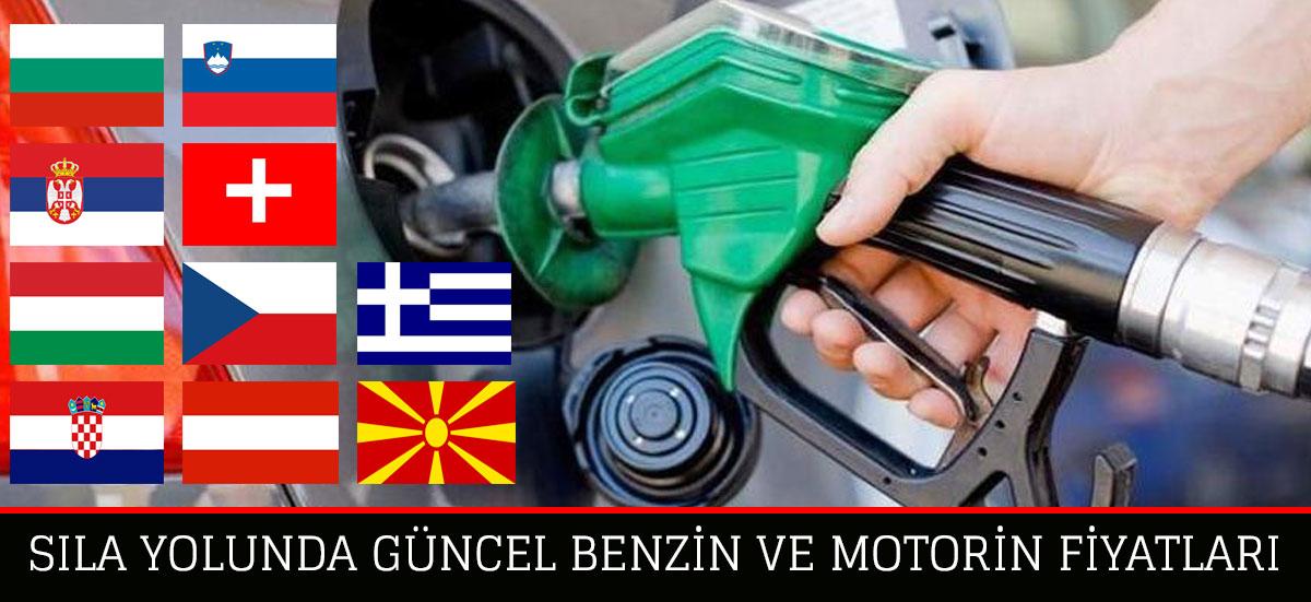 Avrupa'da Yakıt Fiyatları - Güncel 2019
