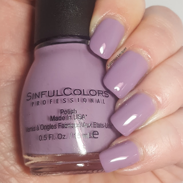 Dusty lilac purple creme nail polish 2018 core line color addition exclusive for walgreens