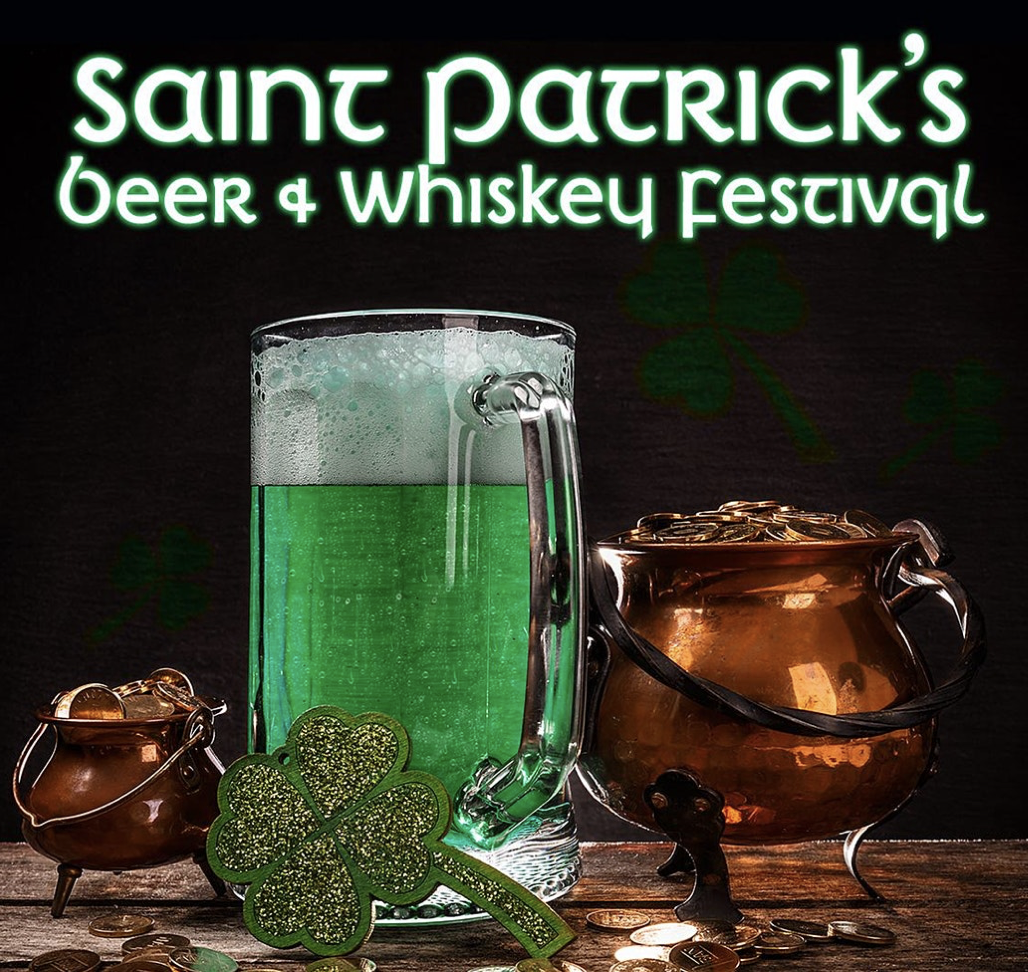 Promo code SDVILLE saves $5 per ticket to the San Diego Saint Patrick's Beer & Whiskey Festival