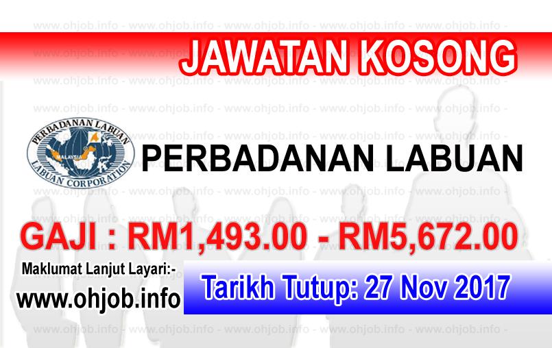 Jawatan Kerja Kosong PL - Perbadanan Labuan logo www.ohjob.info november 2017