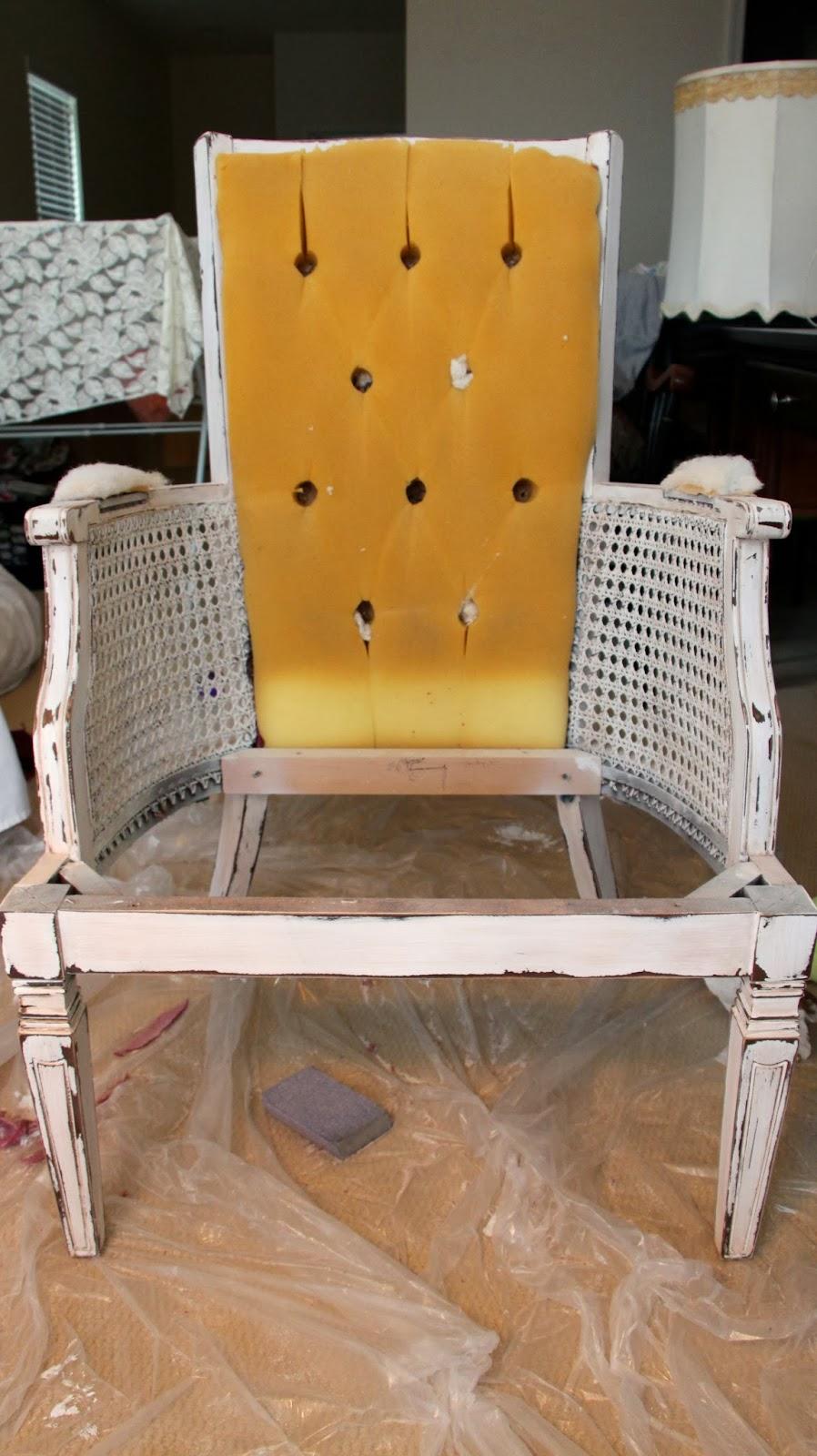 Miraculous Rachels Nest Cane Chair Makeover Part 2 Short Links Chair Design For Home Short Linksinfo