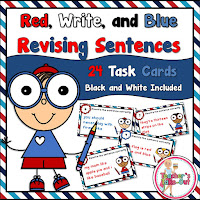 Red Write and Blue Sentences