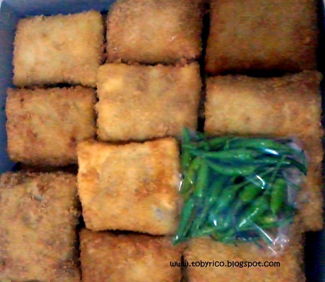TobyRico's mom' kitchen : American Risoles for Une