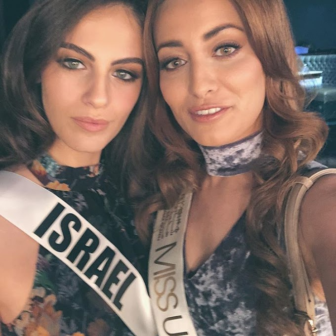 Miss Iraq forced to flee country over Instagram photo alongside Miss Israel