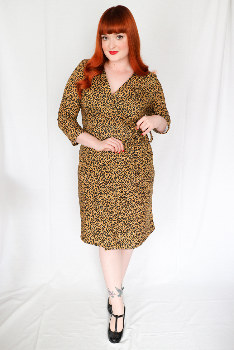 The Crafty Pinup Retro And Vintage Style Sewing Blog Circuit Board Fabric Twoboos Spoonflower Im A Jersey Wrap Dress Addict I Cant Get Enough Of Them After Trying Out Spoonflowers Fabulous Cotton Spandex In One My Previous Posts Here