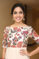 Ritu Varma smiling face Cream Anarkali dress at launch of OPPO New Selfie Camera F3 ~  Exclusive 085.JPG