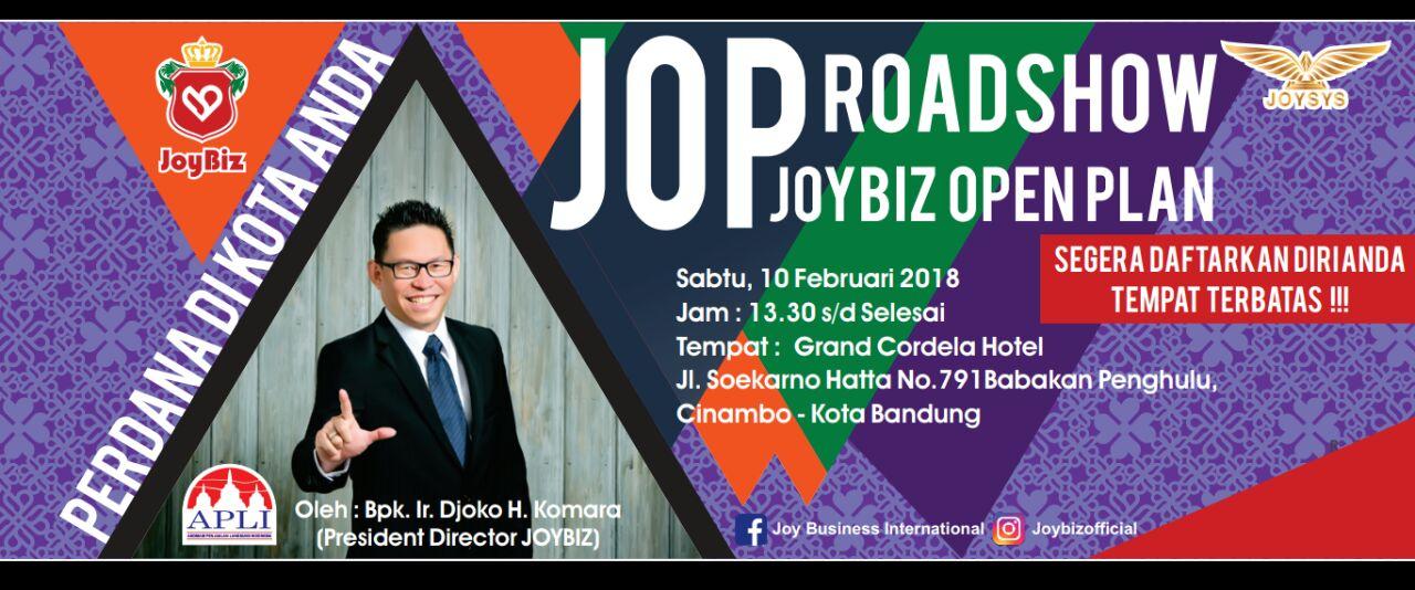 Presentasi JOP Perdana Joybiz di Kota Bandung