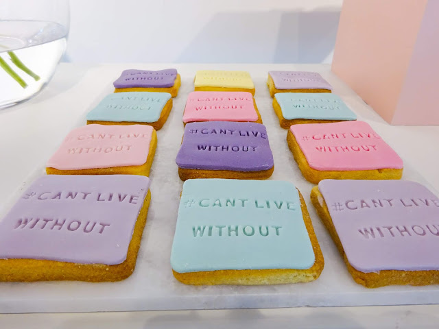 #CANTLIVEWITHOUT Pastel Cookies