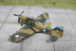 "P-400 Airacobra ""Pat"" d'Eduard au 1/48."