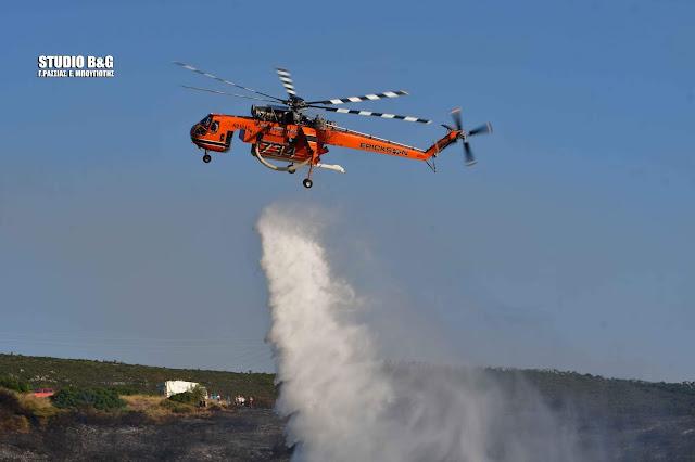 Υπό έλεγχο οι πυρκαγιές σε Λακωνία και Κορινθία