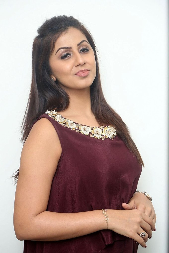 Nikki Galrani at Team 5 Movie Press Meet Gallery