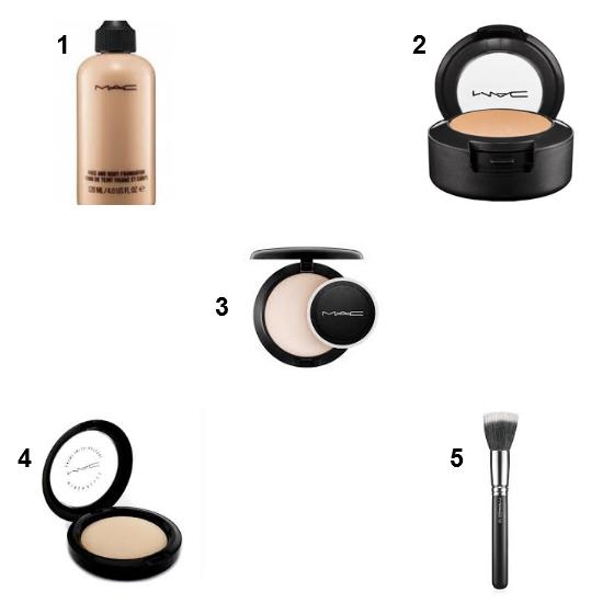 melhores produtos de maquiagem para o rosto mac