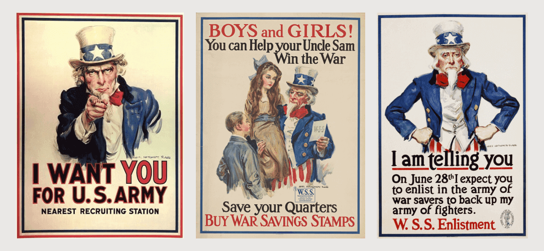 Peristiwa Penting Dalam Desain Grafis - Uncle Sam (1971)