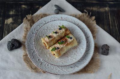 Crepes rellenos, delicioso postre de la cocina islandesa