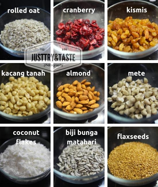 Resep Homemade Granola JTT