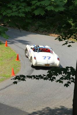 Vintage Race Cars in Hershey Pennsylvania