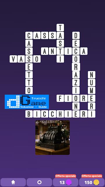 Soluzioni One Clue Crossword livello 21 schemi 3 (Cruciverba illustrato)  | Parole e foto