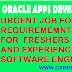 Urgent Requirement for Oracle Apps Technical