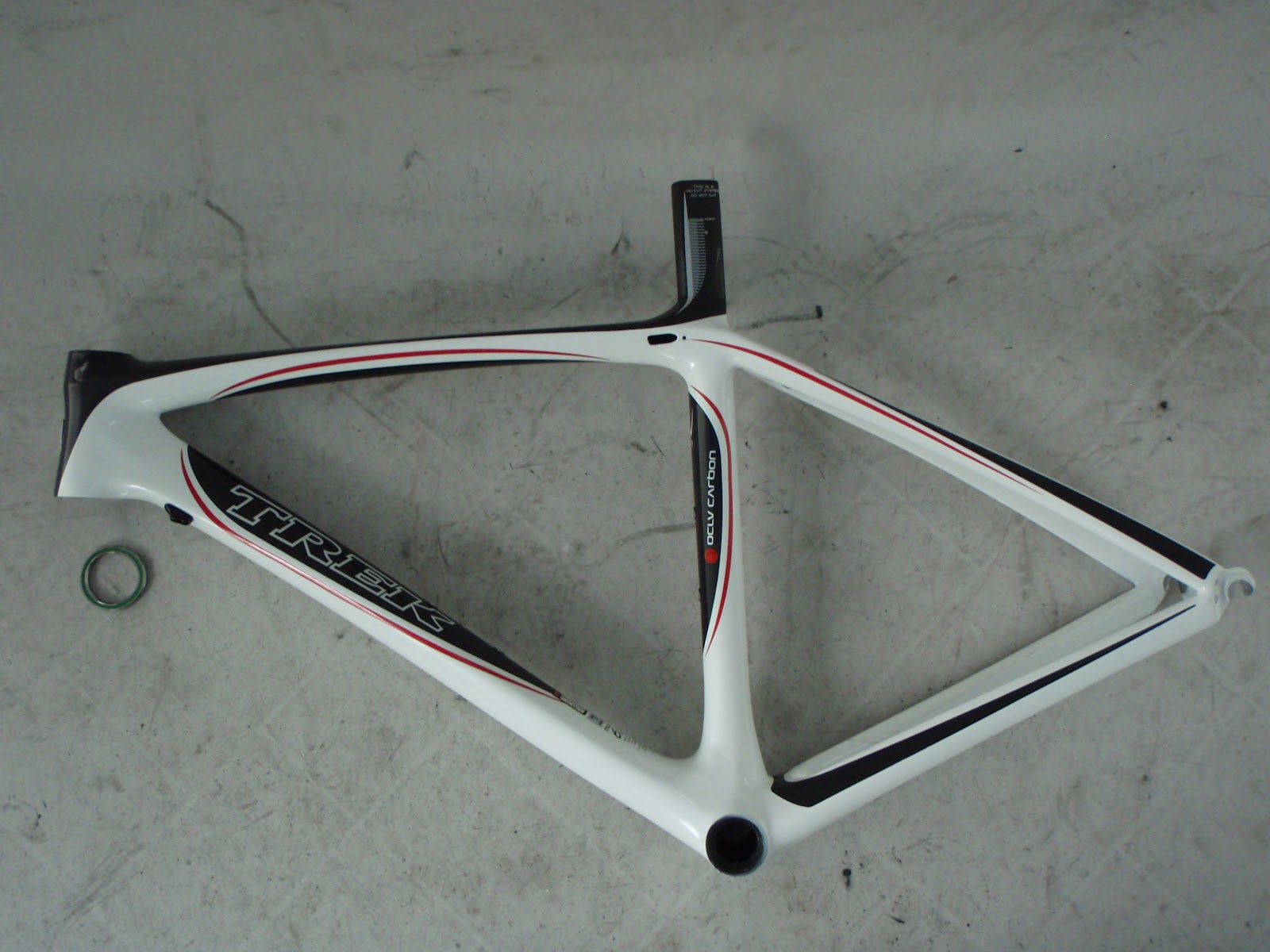 Frame And Wheel Selling Services 2008 Trek Madone 6 5 Wsd