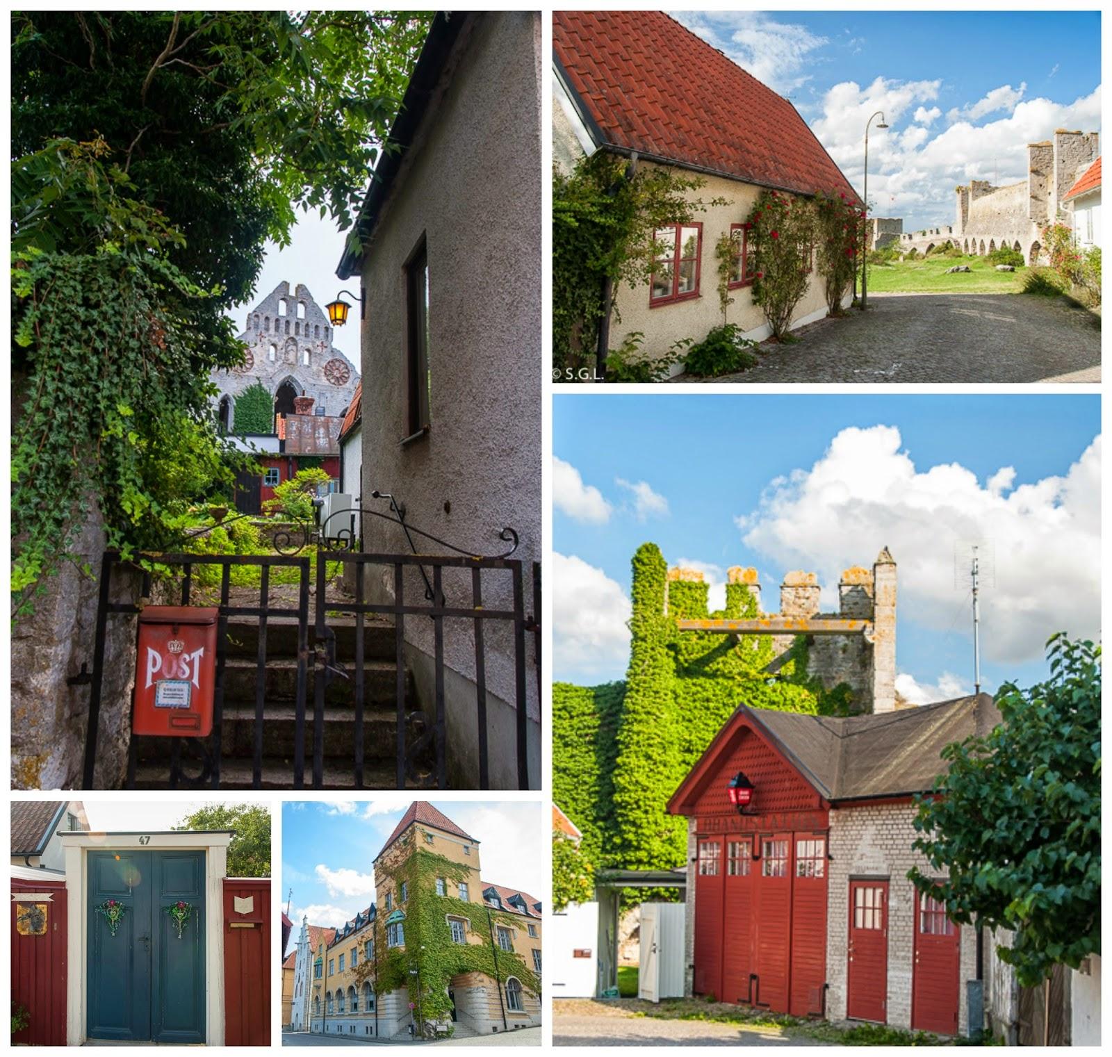 Detalles de Visby en Gotland