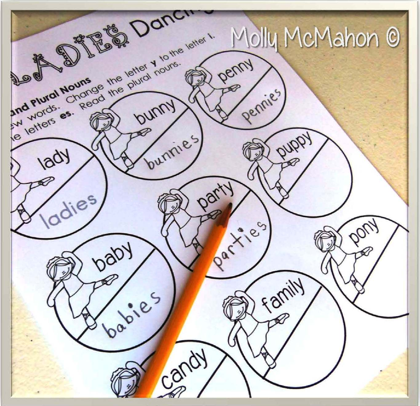 Lessons By Molly Teaching Nouns With The Twelve Days Of