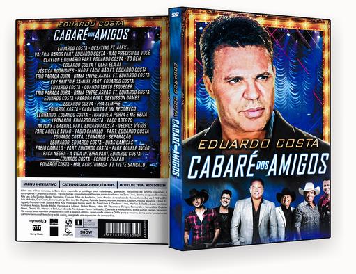 CAPA DVD – Eduardo Costa Cabare Dos Amigos – ISO