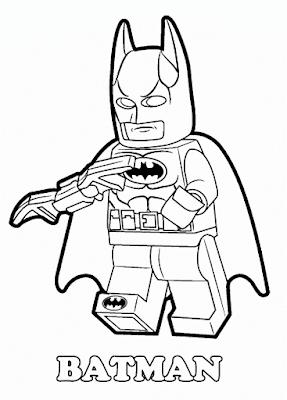 Gambar Mewarnai Lego - 11