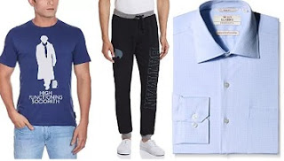 Men's Clothing : Upto 60% Off on Top Brands @ Amazon