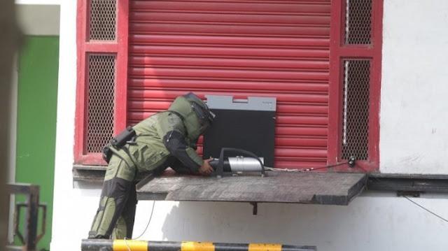 Tidak Disangka Ternyata Ini Isi Kotak Misterius Yang Ditemukan Di Transmart Lampung