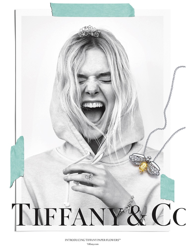Tiffany And Co Jewelry Campaign Featuring Elle Fanning