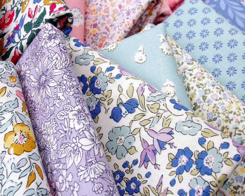 The English Garden by Liberty of London | © Red Pepper Quilts 2017