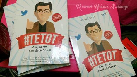 Beli Buku #TETOT Aku, Kamu dan Media Sosial di Bandung
