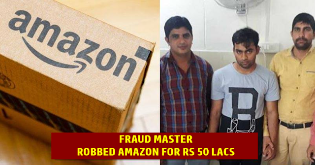 21 Yr Old Boy From Delhi Ordered 166 Phones From Amazon & Duped Them Of Rs 50 Lac By Claiming False Refunds