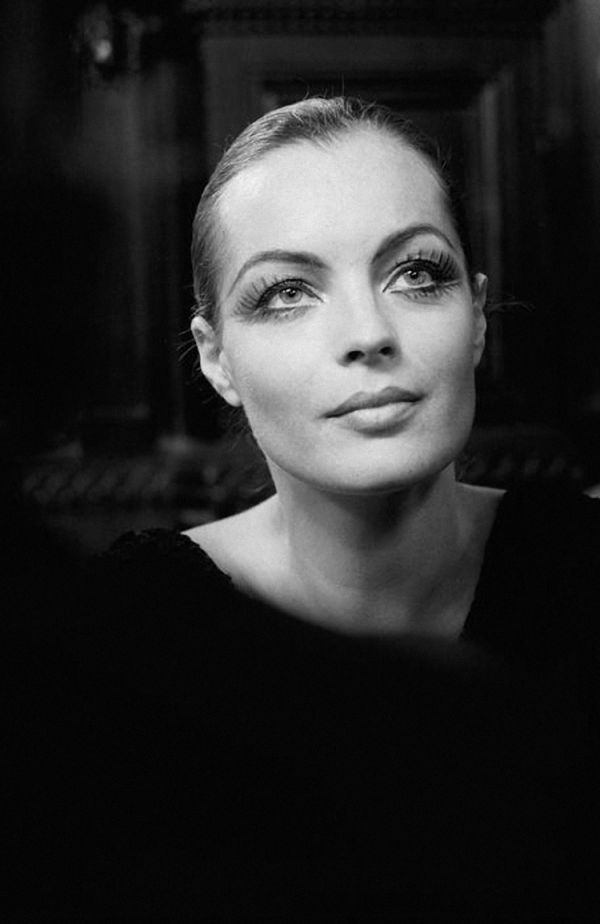 Film Noir Photos: The Eyes Have It: Romy Schneider