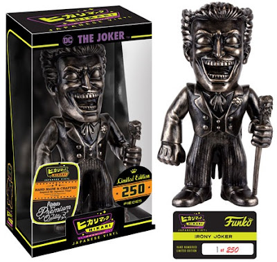 The Joker Irony DC Comics Hikari Sofubi Vinyl Figures by Funko
