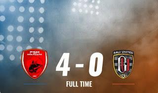PSM vs Bali United 4-0