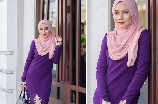 KAIN PASANG BORONG DAN RUNCIT - SRI DAFITA COLLECTIONS: FIONA LACEY DRESS