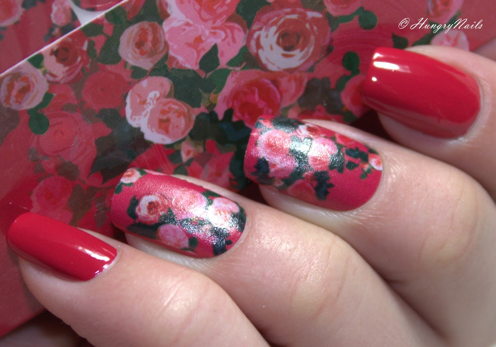 Valentins-Design | Nails in Bloom mit OPI - HungryNails Blog | Die ...
