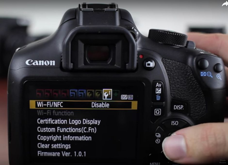 CANON EOS MANUAL AND TUTORIAL: Canon Eos Rebel T6
