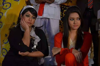 Naznin Akter Happy With Bangladeshi Actress Shabnur