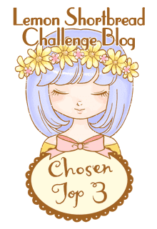 Top 3 for Lemon Shortbread Challenge Blog