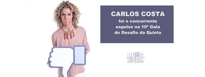 Carlos Costa o concorrente expulso na 10ª Gala do Desafio da Quinta