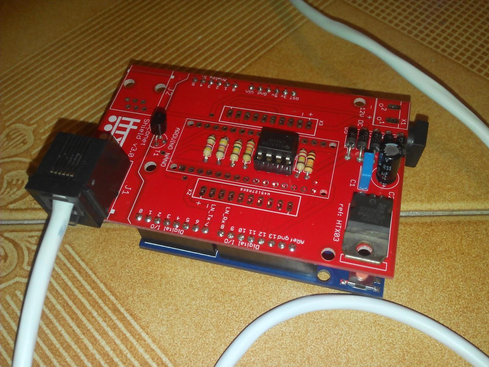 Rocrail Arduino