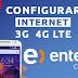 Configurar Internet APN 3G/4G LTE Entel Chile 2019